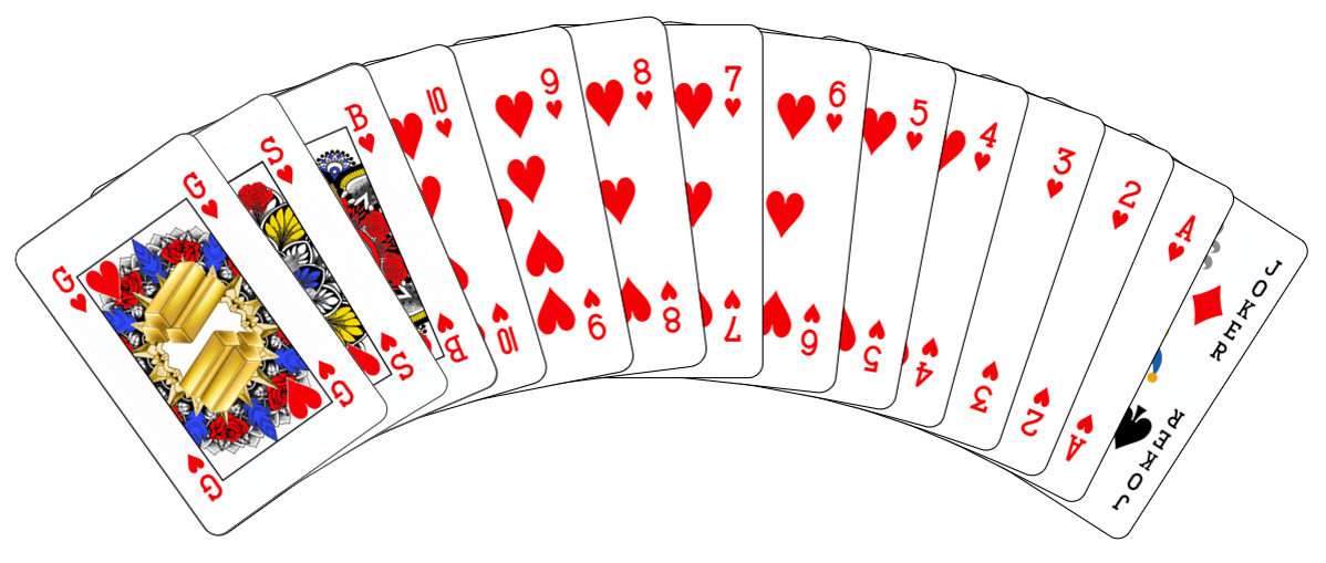'Hartentroef': gender- en rasneutrale speelkaarten
